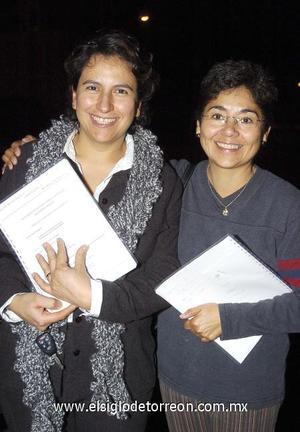 21122006 Rayito González y Georgina Gil.
