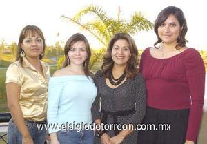 21122006 Rosa Isela Chavarría, Miriam Castro, Magdalena Hipólito y Érika Martínez.