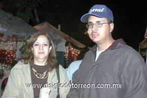 24122006  Silvia de Sierra y Luis Felipe Sierra.