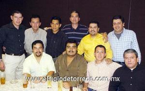 23122006   Adrián de la Cerda, Eduardo García, Felipe González, Alejandro Zacarías, Humberto Sabag, Gabriel luévano, Guillermo Rangel.