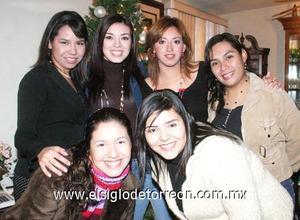 23122006   Alejandra Puentes, Cecilia Acosta, Arely Salazar, Blanca Muñoz, Diana Pineda y Blanca Parada.