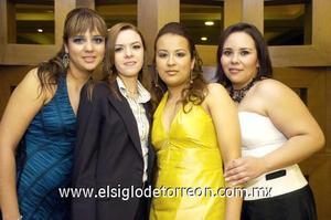 23122006  Blanca Palafox, Yéssica Cedillo, Nayeli Escamilla y Brenda de Ortiz.