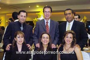 23122006   Santiego Castillo, Rosalba Lechuga, Hilda Vela, Arturo Martínez, Guillermo González, Iris Cebrián.