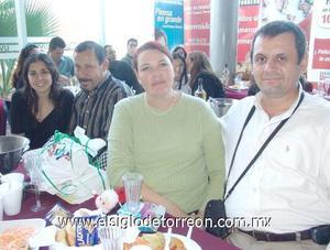 25122006 Yolanda Velázquez, Antonio Guerrero, Laura Bado, Juan Cano.
