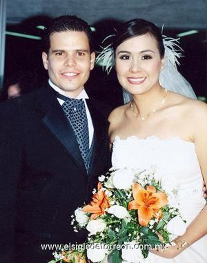 Lic. Jorge Andrés Blando Torres y Lic. En Psic. Ana Cecilia Quiñones Medina contrajeron matrimonio en la parroquia del Santo Cristo, el 28 de octubre de 2006.