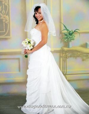 Srita Aída Luisa Guardado Olivares contrajeron matrimonio en la Catedral de Nuestra Señora del Carmen, el dos de diciembre de 2006.