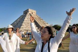 Chichén Itzá está ubicada en el norte de la Península de Yucatán.