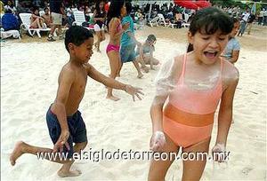 Playa sol y arena en el DF