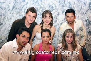 Luis Garza, Beatriz Arenal, José Antonio Flores, José Manuel Rodríguez, Pilar González y Daniela Teele.