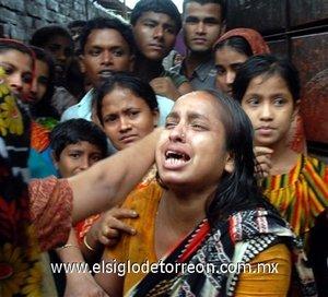 El sufrimiento de los residentes de Chittagong, no es sólo por las pérdidas materiales sino principalmente por las humanas.