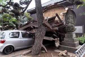 El movimiento telúrico sacudió varios edificios de la capital y fue percibido también el norte y centro de Japón.