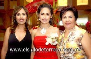 03082007 Magda Orozco de Rodríguez y María Magdalena Guerrero de Orozco organizaron una despedida de soltera a Ruth Orozco Guerrero.