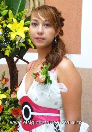 09082007 Liliana Soto Puentes fue despedida de su soltería.