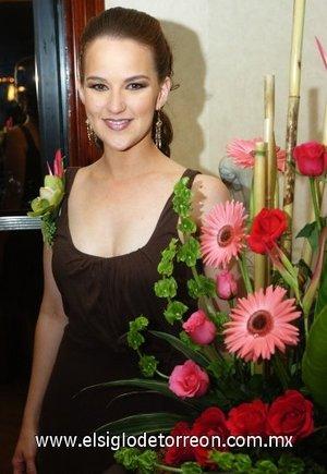 12082007 Bárbara Willy Martínez disfrutó de una despedida, con motivo de su cercana boda con Javier Aguilar Morales.