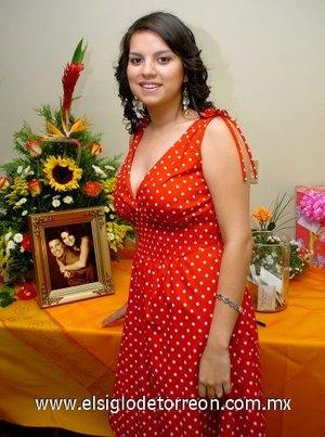 12082007 Dyana Ivette Saavedra González disfrutó de una despedida, con motivo de su próxima boda.