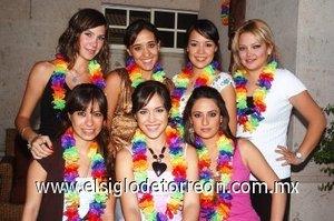 12082007 Lety Borunda, Lorena Iturbide, Daniela Meraz, Ale Rodríguez, Ana Cris González, Ely Serna y Paola Rivera.