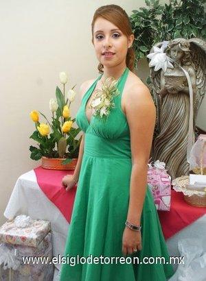 14082007 Eliette Cristina Rodríguez contraerá matrimonio con Olaf García, este sábado 18 de agosto.