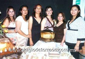 20082007 Josefina Nava de Segobia, Luz Elena Vera del Rivero, Rosy Segobia de Rodríguez, Berenice Segobia de Alvarado y Deyanira Villalobos organizaron la fiesta de Liliana.