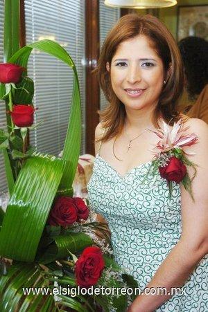 22082007 Claudia García Reynoso fue despedida de su vida de soltera, con motivo de su próxima boda.