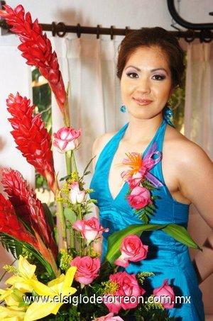 25082007 Janeth Herrera Martínez disfrutó de un festejo pre nupcial, con motivo de su próximo enlace con David Gerardo Romano.