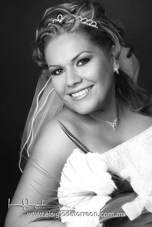 Srita. Maribel Borja Cerda unió su vida en matrimonio con el Sr. Abdón Elier García Silva. <p> <i>Estudio Laura Grageda.</i>