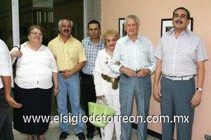 09092007 Horacio Marmolejo, Graciela Navarro, Angélica de Recio, Carlos González, Carlos González Puente y Juan Méndez.