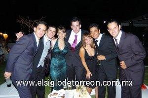 09092007 José Ángel Echávarri, Manuel Soltero, Ana Laura Barragán, Andrés Ramos, Ale Reed, Ale Arias y Javier Martínez.