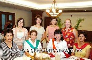 13092007 Morena de Martínez, Marilú de Gidi, Martha de Pérez, Laurencia de González, Lety de Martínez, Ángeles de Lara, Nancy de Jalife y Ana Tere de García.