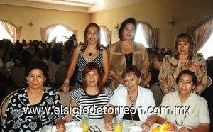 14092007 Yolanda Ebrad, Pilar de Sotomayor, Pinita del Río, Blanquita Valenzuela, Paty de Rubio, Ale