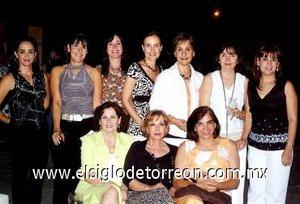 15092007 Nonó Derbez, Natalia Gutiérrez, Guadalupe Obeso, Maeva Nahle, Liz Vega, Leticia Canedo,