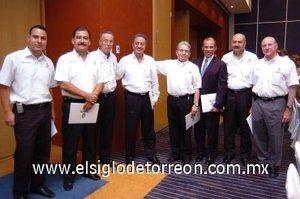15092007 Ulises Correa, Miguel Wong, Armando Martín, Federico López, Jesús Campos, Alberto González,