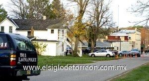 Los disparos se produjeron en una casa de dos pisos a una cuadra del centro de Crandon.