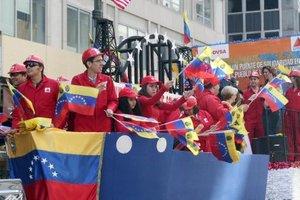El mensaje más importante  del desfile fue la unidad del pueblo latinoamericano.