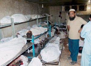 Entre las víctimas también habían al menos una treintena de miembros de las fuerzas de seguridad.