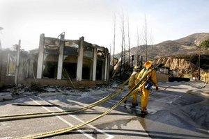 Las principales casas afectadas por el fuego se encuentran en las comunidades de Escondido, Rancho Bernardo, Poway, Forest Ranch y Lake Hodges.