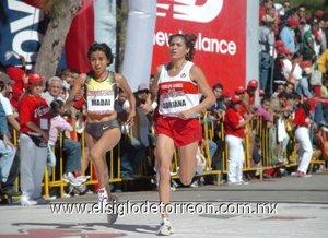 La tlaxcalteca Madaí Pérez se dijo contenta por la carrera realizada donde ocupó el tercer lugar de la categoría Elite, que le significó, además de convertirse en la campeona nacional de la especialidad, dar un paso hacia Beijing 2008.