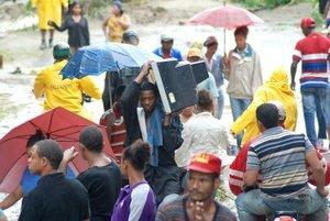 Unas tres mil 295 personas han sido evacuadas a consecuencia de los fuertes efectos de Noel.