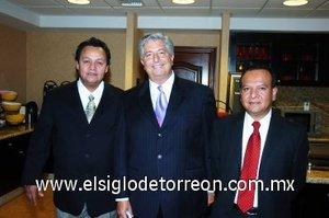 01112007 Carlos San Miguel, Frank Ssitta y Luis Alvarado.