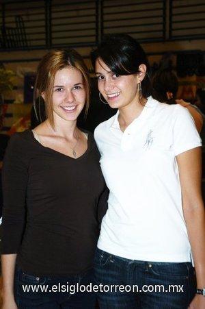 03112007 Astrid Valenzuela y Claudia Rebollo.