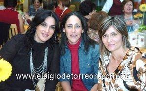 05112007 Chacha Salmón de Veyán, Mónica Rocha de Garrido y Arlette Abularach de Ortiz.