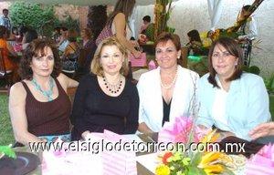 05112007 Nonó Derbez, Alicia Villarreal, Mary de Haro y Laura González.