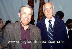 05112007 Ramón Iriarte y Germán González en reciente evento.