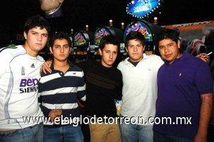 12112007 Mariano Villarreal, Manuel Bitar, Luis Cepeda, Fernando Madero y Santiago Villegas.