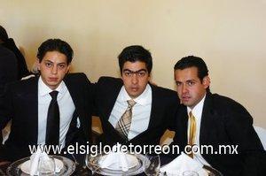 04112007 José Juan Marcos, Poncho Campa y Franck López.
