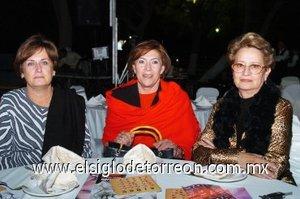 04112007 La Güera Grageda, Lety Albores y Susana.