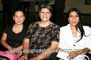 04112007 Rosa María Alba, Lily de García y Ana Matilde G.