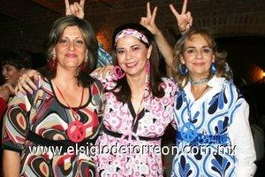 04112007 Rosy, Rosa Velia González y Myriam Pérez.