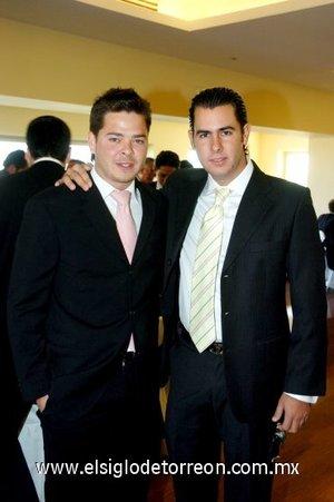 04112007 Víctor Setién y Alejandro Madero.