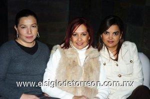07112007 Edith Valdez, Claudia de Álvarez y Maru de Ramos.