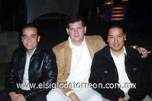 07112007 Gustavo Valdez, Mauricio Álvarez y Benito Ramos.